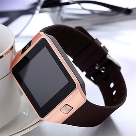 Brown Bluetooth Analog Digital Smart Watch with Call Function