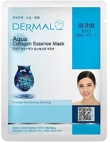 Dermal Aqua Collagen Face-Mask  Soft  Bright Skin