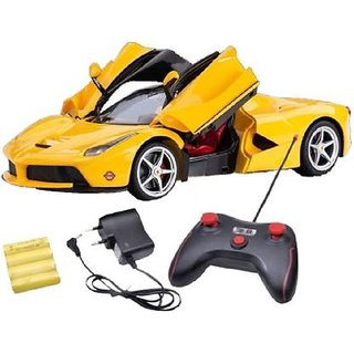 Shribossji Dream Super Car High Speed Racing Car With Open And Close Door Remote Control Toy For Kids