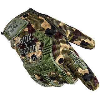 Camouflage Fitness Gloves Weight Lifting Hand Grips With Antislip Design For Workout By Tinsley