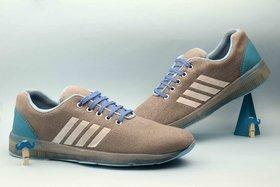 Kains Collection Men's Sky Blue Sports Shoes