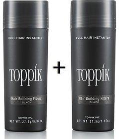 Toppik-kk Hair Building Fiber New Bottle 27.5Gm-black-(pack of 2)