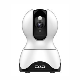 D3D 2MP (1920x1080P) WiFi Wireless IP Home Security Camera CCTV with Cloud Storage White (Model  F1-362C)