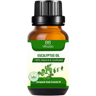 Eucalyptus Essential Oil 100% Pure for Cough, Colds, Clear Breathing, Joints Pain, Mosquitos -(10 ml) (Pack of 1)