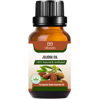 Pure, Natural And Cold Pressed Jojoba Carrier Oil (10 ml) (Pack of 1)