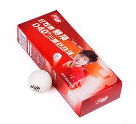DHS D40+ 3 Star ABS Seam ITTF (Pack of 10 Balls)