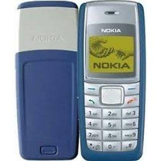 Refurbished Nokia 1110i Blue Single SIM With 1 year  warranty Bazaar warranty