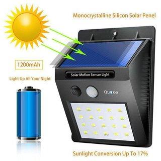 20 LED Solar Motion Sensor Light Outdoor Wall Light