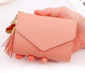 fashlook peach wallet for women