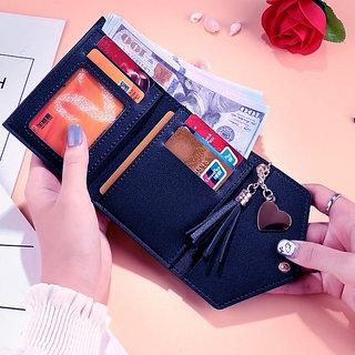 fashlook navy wallet for women