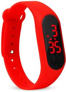 Varni Retail Rubber Magnet New LedRed Digital Watch M2 LED RED - For Boys  Girls