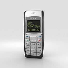 Nokia 1110i Black Color Certified Pre Owned(1 Year Warranty Bazaar Warranty)
