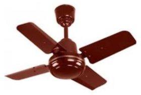SPARKY 600 MM Aluminium Ceiling fan 4 Blade Brown Colour