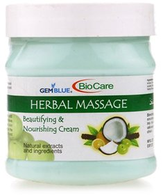 Bio Care Herbal Massage Cream 500 gm Plastic Jar