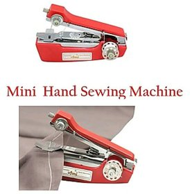 Mini Hand Stapler Model Sewing Machine - Assorted Colors