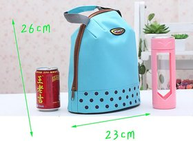 Manufacturers Direct Pure Zipper Thermal Insulation Bags Simple Thickened Instant Bag Waterproof Lunch Bag