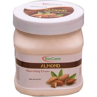 Bio Care Almonds Face Body Cream 500gm Plastic Jar