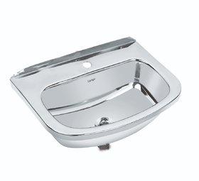 Tango Stainless Steel Wash Basin 18X12 Inch/Wall Hung Basin.