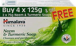 Himalaya Neem&Turmeric Soap (4Nx125G)