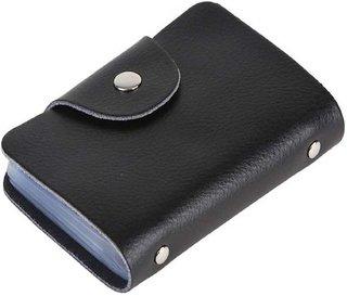 Zeeko Black Leatherite Casual Card Holder