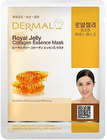 Dermal Royal Jelly Collagen Face Mask  Anti-ageing  Nourish Skin