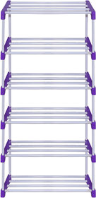 ANR STORE MULTIPURPOSE ROD RACK 6 LAYER'S BLUE
