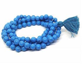 CEYLONMINE original firoza mala natural turquoise beads mala original stone mala for unisex