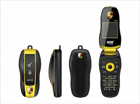 MTR Key A Key Shapped Bluetooth Dialer  Dual Sim 1.7 Inches(4.32 Cm) Display Phone