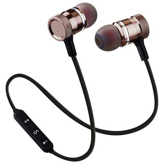 Wireless Magnetic In the Ear Bluetooth Headset With 3 Months Seller Warranty