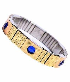 Blood Pressure Control Magnetic Bp Monitor Golden Bracelet