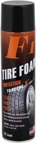 F1 Tyre Foam 600 ml Wheel Tire Cleaner  (Pack of 1)