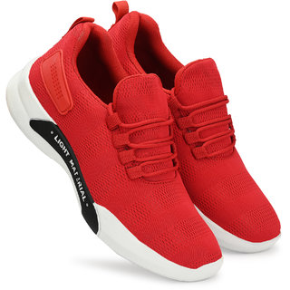 buy white walkers lightweight red casual shoes for men