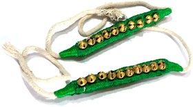 Nawani Ghungroo 10 Bells 1.6 cm, Dancing Bells Anklets ( 1 Pair )