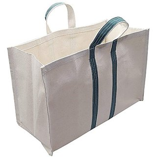 Sanchi Creation Large Shopping Grocery Vegetable Bag with Reinforced Handles, Thick Base (Pack Of 1)