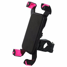 AutoSun Bike Holder 360 Degree Rotating Bicycle Holder Motorcycle Cell Phone Cradle Mount Holder for TVS Victor New
