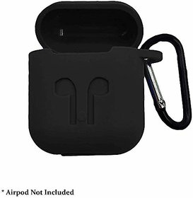 SHOPKING Newest AirPods Case Soft Silicone Protective Accessories Cover Compatible for AirPods 2 Wireless Charging Case