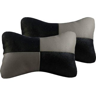 Black  Grey Car Neck Rest Cushion for Volkswagen Jetta