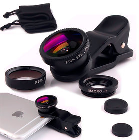 Kudos New Universal 3 in 1 MOBILE PHONE Clip Lens
