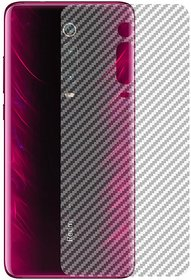 For Redmi Redmi Note 8 Pro Back Carbon Fiber Finish Ultra Thin Scratch Resistant Safety Protective Film