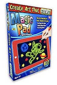 Magic Drawing Pad 8 Light Effects Puzzle Board 3D Sketchpad Tablet Creative Kids Pen Gift LEDs Lights Glow Art Drawing T