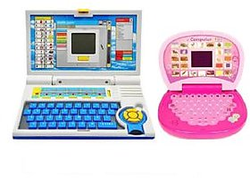 A Set Of Educational big  Laptop  and small laptop with screen