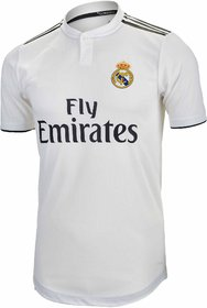 REAL MADRI D HOME WHITE  JERSEY 2018-19