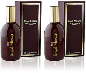 Set of 2 Royal Mirage Unisex Perfumes 120ml