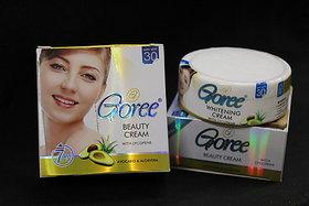 GOREE BEAUTY CREAM WITH GOREE WHITENING SOAP (COMBO PACK).