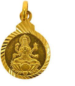 Goddess Lakshmi Coin Pendant
