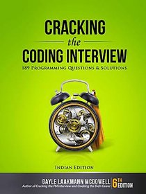 Cracking the Coding Interview  189 Programming Questions and Solutions  (English, Ebook, Pdf, Gayle Laakmann McDowell)