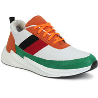 Multicolor Sneakers For Men by G.N Impex