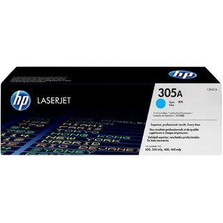 HP CE411A 305A Cyan Toner Cartridge For use Color LaserJet Pro 300 M375 MFP, 400 M475 MFP, Ink   Toner Cartridges