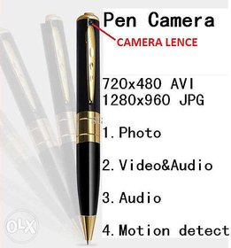 Latest Spy Video Recording Pen Camera
