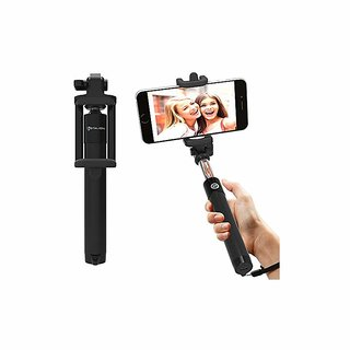 Mobilife Selfie Stick Bluetooth Extendable With Wireless Remote And Tripod Stand Selfie Stick For Iphone X/Iphone 8/8 Pl